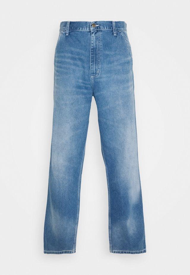 SIMPLE PANT NORCO - Jeans baggy - blue