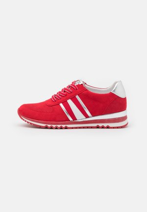 LACE UP - Sneakers basse - red