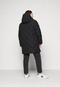 Noisy May Curve - NMFALCON LONG JACKET - Winter jacket - black - 2