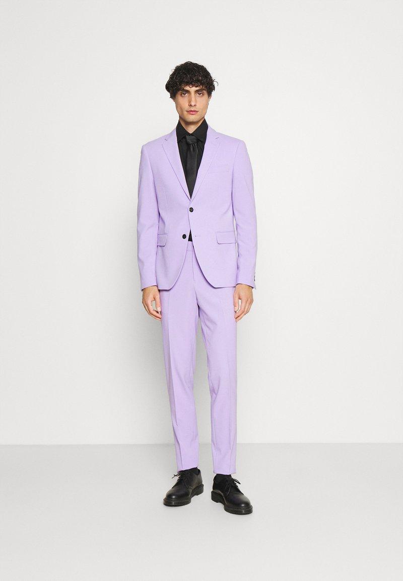 Lindbergh - PLAIN MENS SUIT - Dress - lilac
