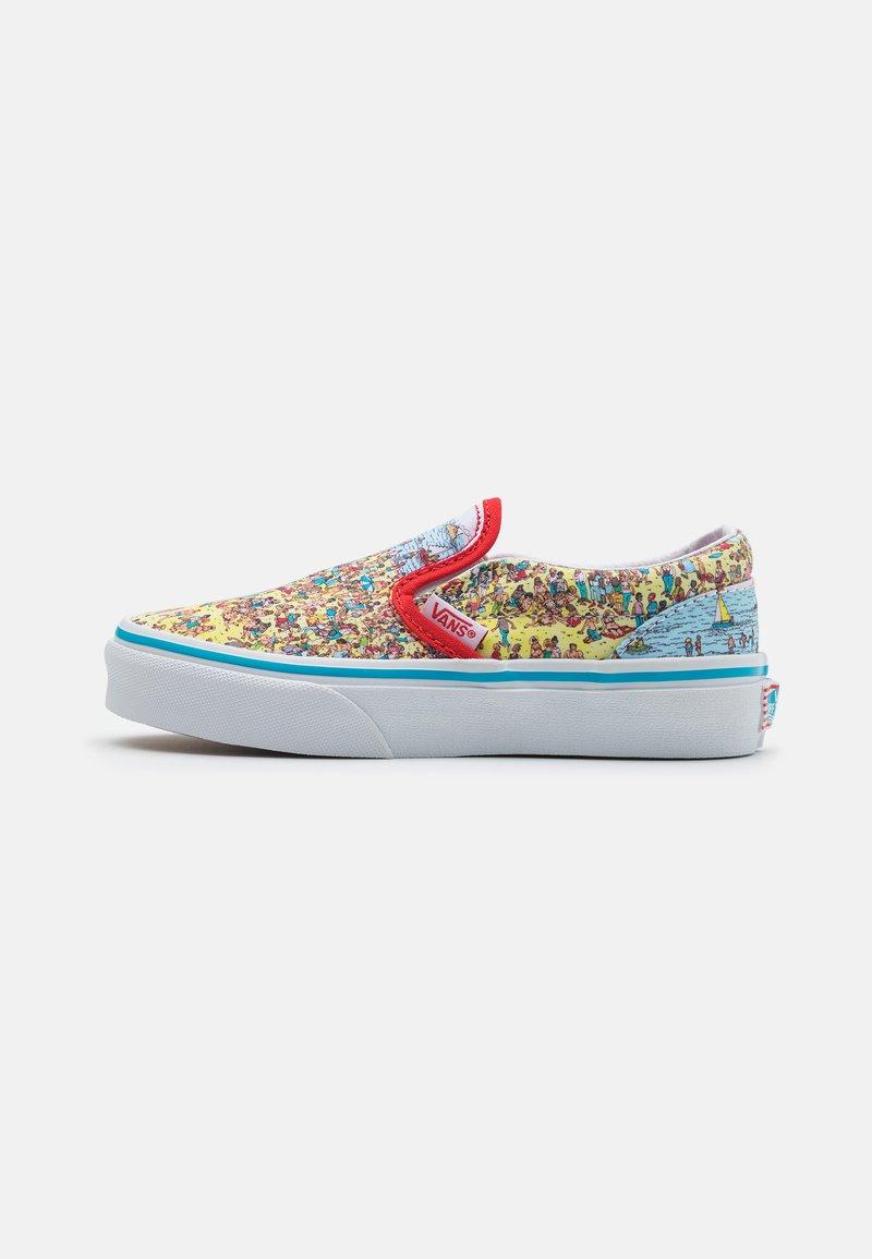 Vans - CLASSIC UNISEX - Sneakersy niskie - yellow/mulitcolor