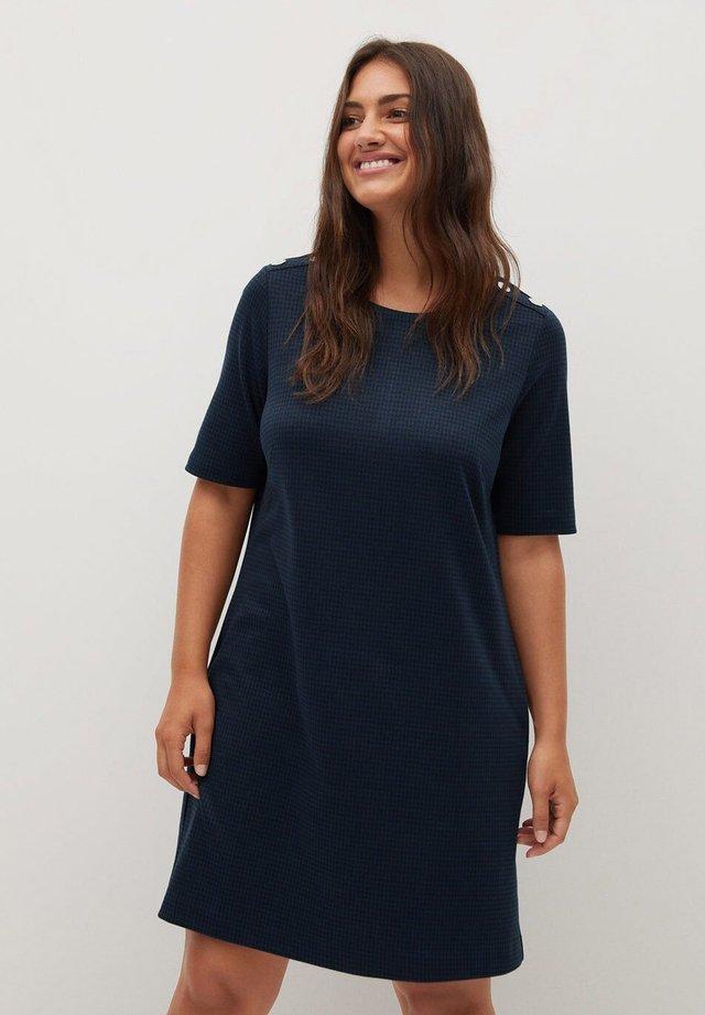 JACK - Korte jurk - dunkles marineblau