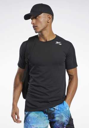 SPEEDWICK MOVE TEE - T-shirt z nadrukiem - black