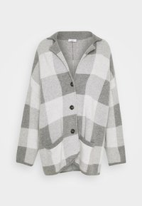 CLOSED - JACKET - Klasický kabát - heather grey melange - 5