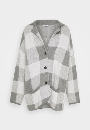 JACKET - Classic coat - heather grey melange