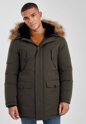 NAVY SIGNATURE DOWN FILLED PARKA - Down coat - green