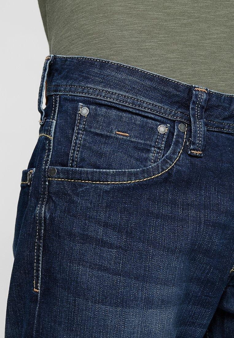 Pepe Jeans Kingston Zip Straight Leg Jeans Blue Donkerblauw Zalando Nl