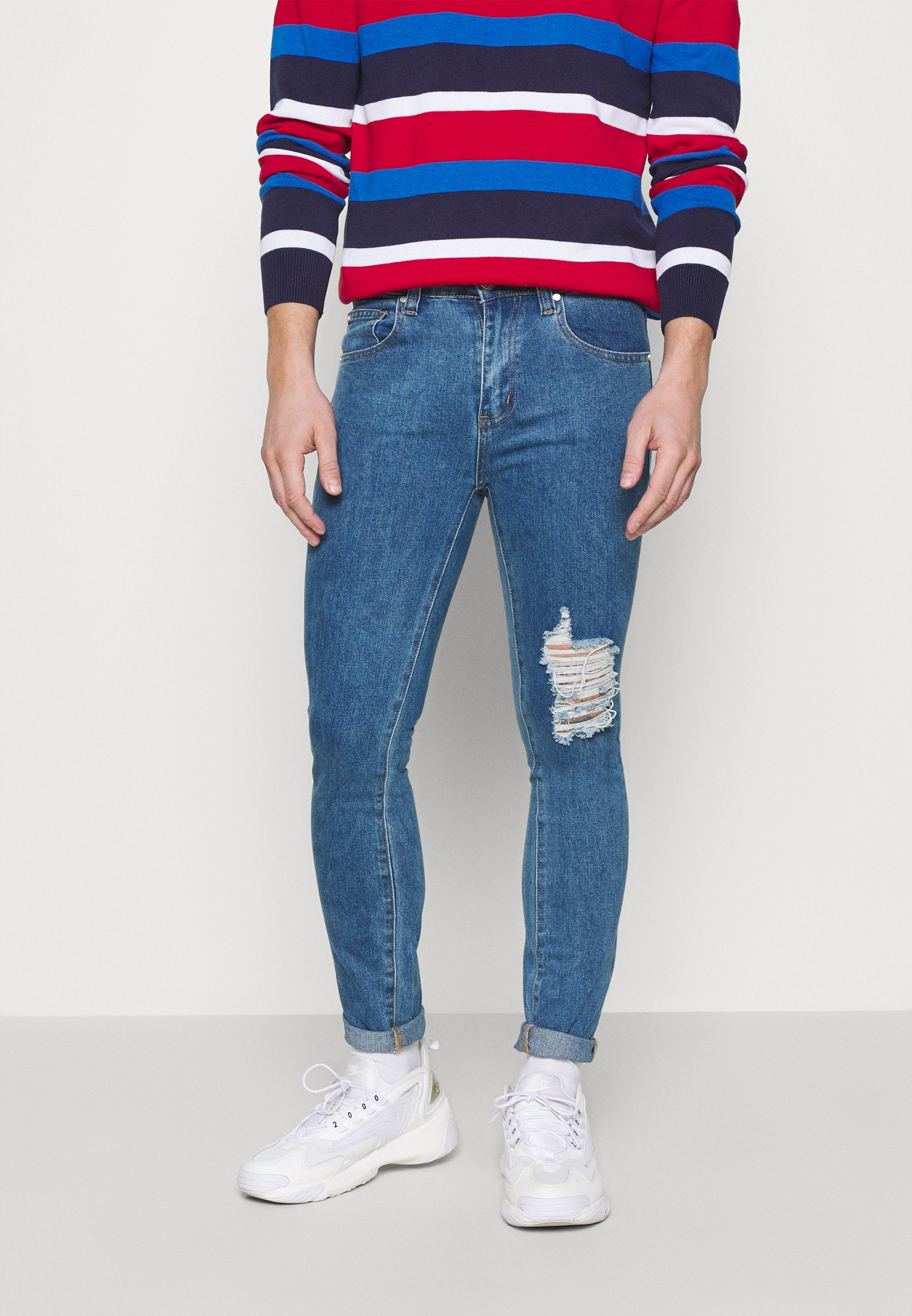 Men RIPPED  - Jeans Skinny Fit