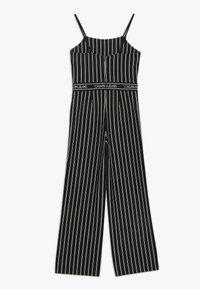 Calvin Klein Jeans - CITY STRIPE STRAP - Jumpsuit - black - 1