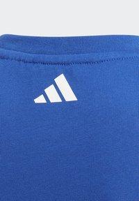 adidas Performance - COTTON T-SHIRT - Print T-shirt - blue - 4