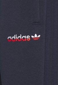adidas Originals - 3 STRIPE SPLIT - Pantaloni sportivi - legend ink/red - 2