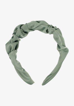 MIT SCHIMMERNDER GEFLOCHTENER OBERFL - Hair styling accessory - jadegrün