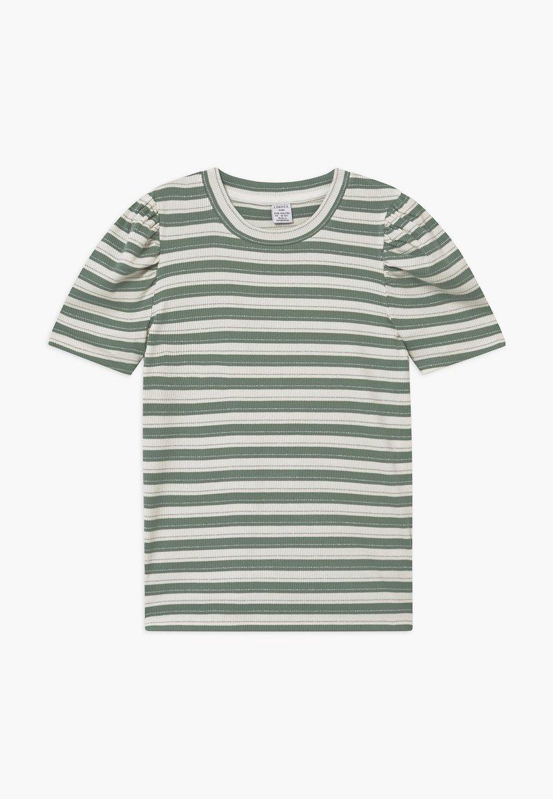 Lindex - TEENS LOLA - Print T-shirt - light dusty green