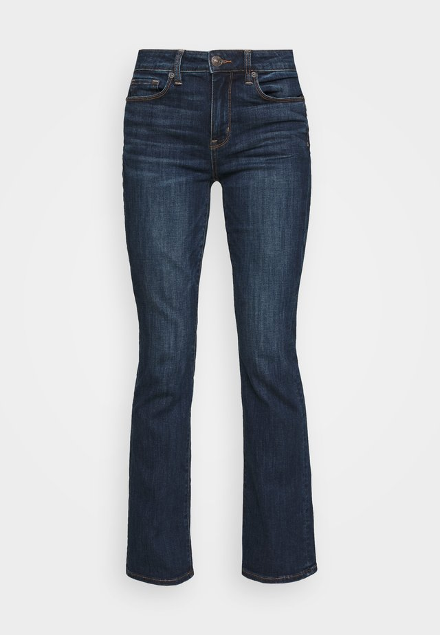 SKINNY KICK - Flared jeans - deep sea blue