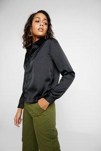 JDY - JDYFIFI  - Button-down blouse - black - 3