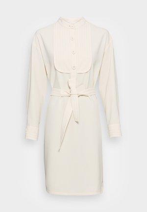 Shirt dress - antique white