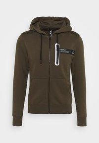 Replay - Zip-up hoodie - military - 0
