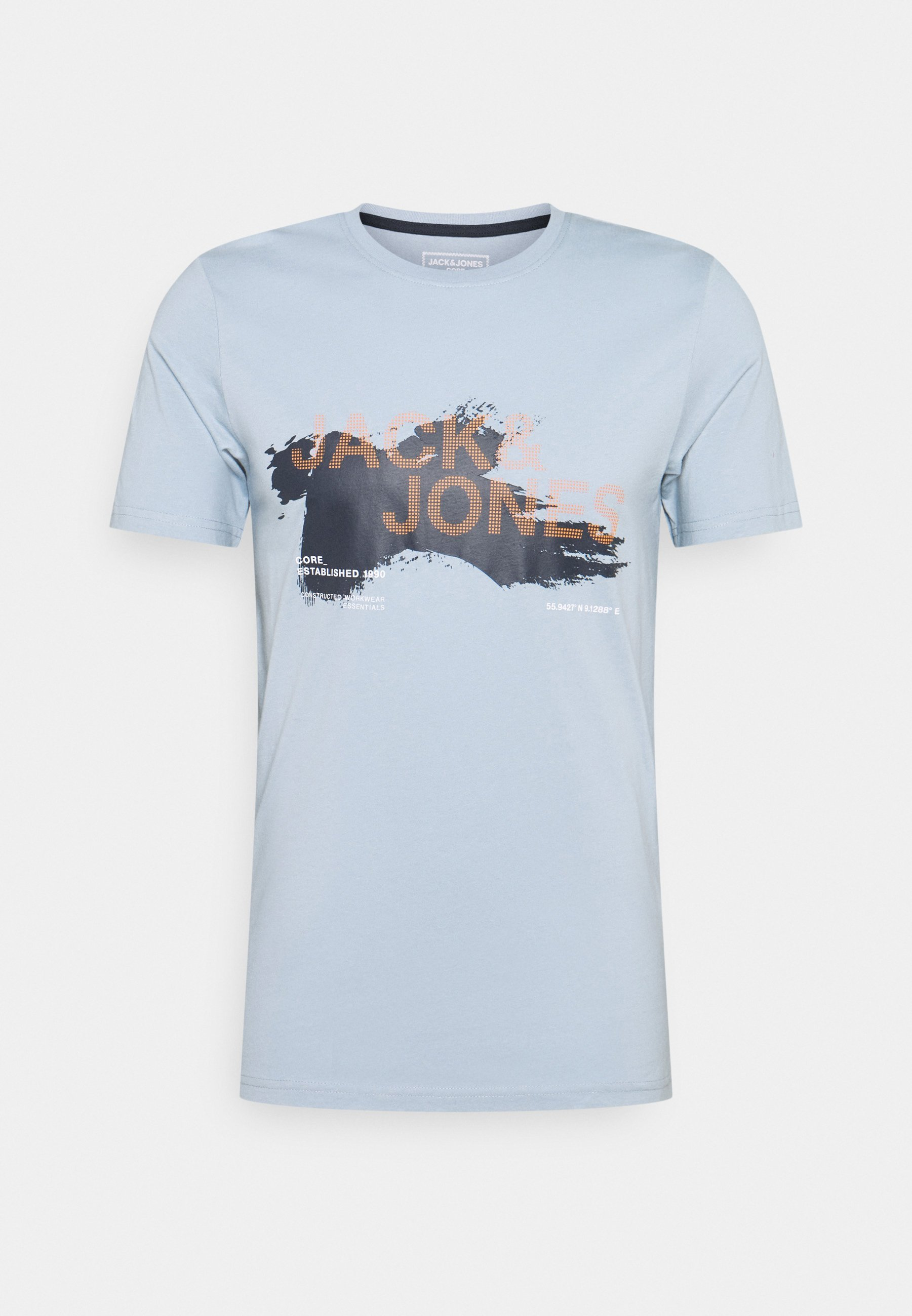 Herren JCOHOLE TEE CREW NECK - T-Shirt print