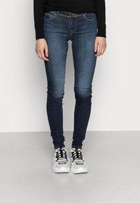 ONLY - ONLSHAPE - Jeans Skinny Fit - dark blue denim - 0