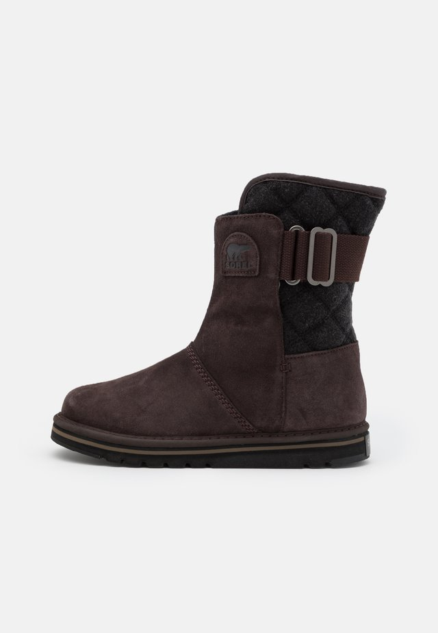 NEWBIE - Botas para la nieve - dark brown