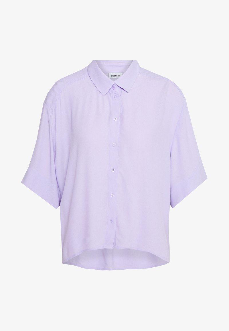 Weekday - HALL - Hemdbluse - lilac purple light