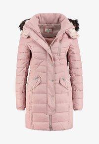 TOM TAILOR - MIT KAPUZE - Winter coat - light pink - 0