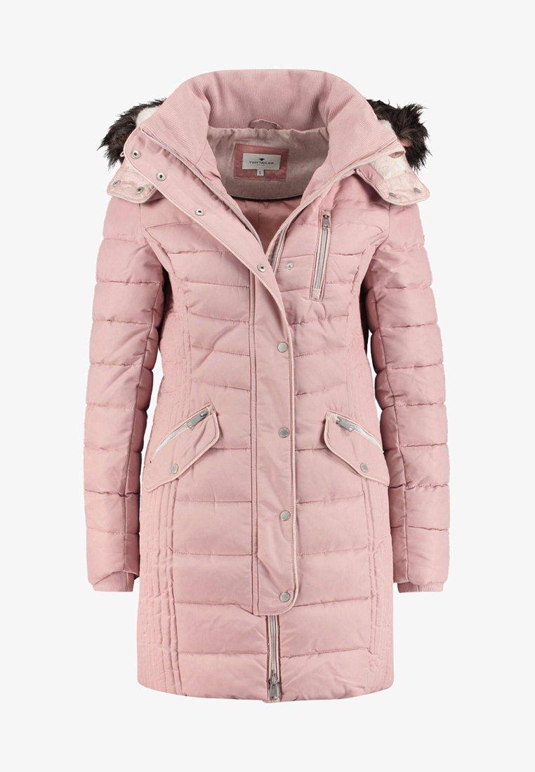 TOM TAILOR - MIT KAPUZE - Winter coat - light pink