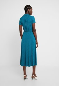 King Louie - MIDI DRESS LITTLE DOTS - Jerseykjole - lapis - 3