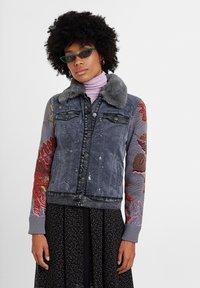 Desigual - CHAQ_PANA - Denim jacket - black - 0