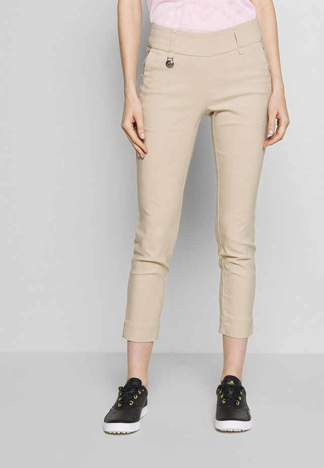 MAGIC HIGH WATER - Broek - straw