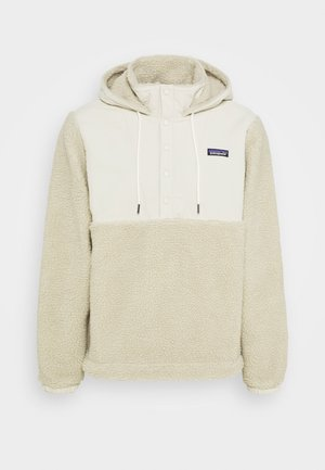 SHELLED RETRO - Fleece jacket - pelican