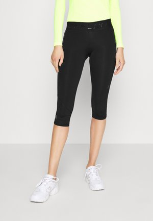 ONPPERFORMANCE TRAINING - Leggings - Trousers - black/red
