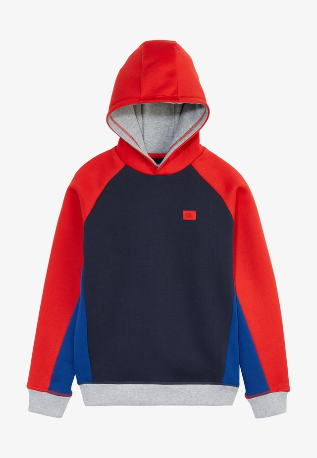 Sweater - fiery red