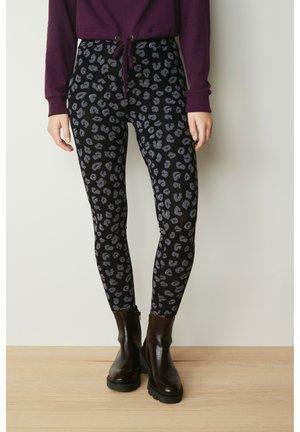 Leggings - Trousers - dark grey