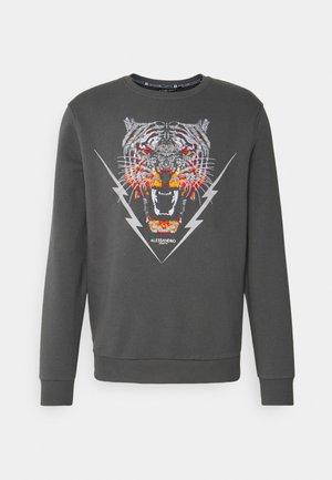 GROWLER BOLT CREW - Sweatshirt - grey