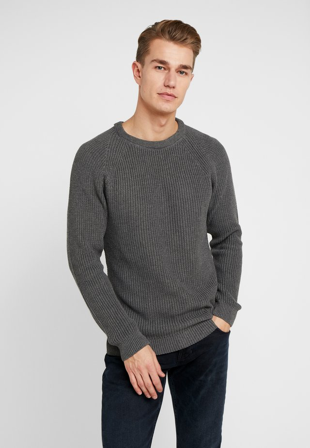 EMIL ROUND - Jumper - dark grey