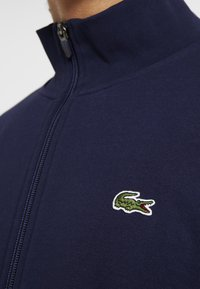 Lacoste Sport - Zip-up hoodie - navy blue - 5