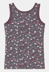 Name it - NMFTANK 2 PACK - Tílko - black plum - 2