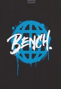 Bench - AMBERLAND - Print T-shirt - black - 2