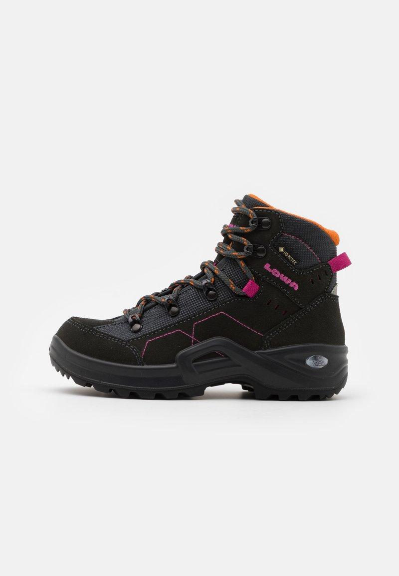Lowa - KODY III GTX MID JUNIOR UNISEX - Hiking shoes - anthracite