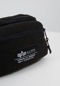Alpha Industries - BIG WAIST BAG - Bum bag - black - 7