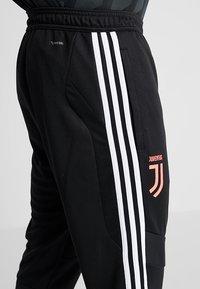 adidas Performance - JUVENTUS TURIN TR PNT - Vereinsmannschaften - black/white - 6