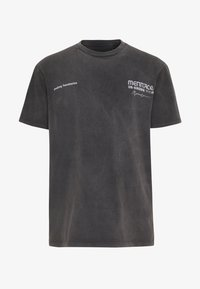 Mennace - UNKNOWN PLANETS TEE - T-shirt con stampa - black - 4
