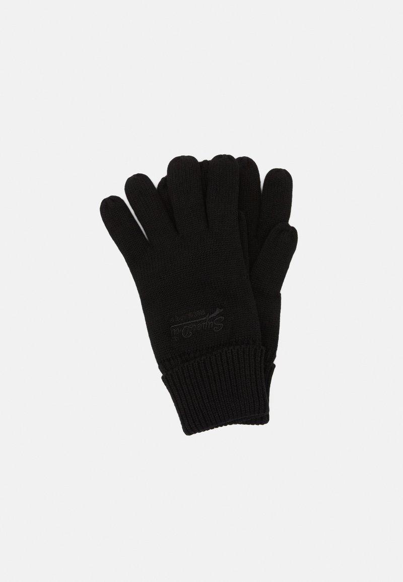 Superdry - ORANGE LABEL - Gloves - black