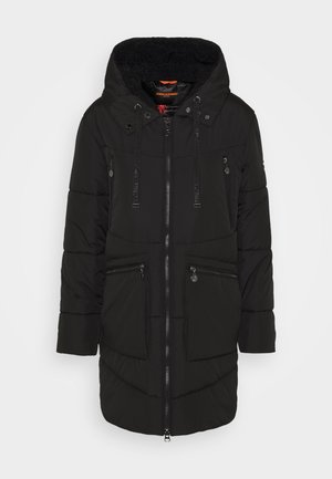 PARKA JENNICE MIT GEFÜTTERTE KAPUZE - Zimní kabát - black