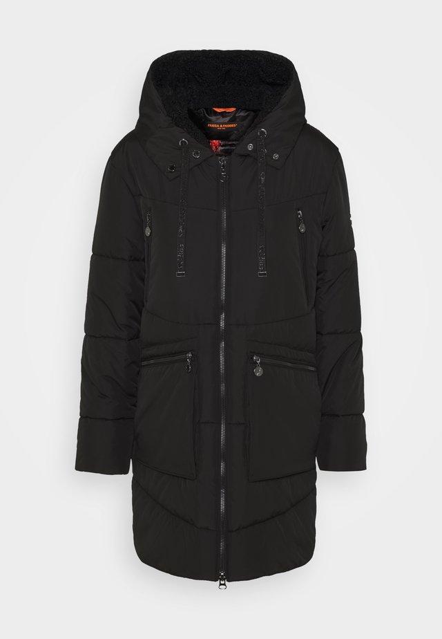 PARKA JENNICE MIT GEFÜTTERTE KAPUZE - Winter coat - black