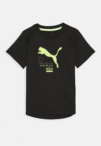 Puma - ACTIVE SPORTS TEE - Print T-shirt - puma black - 0