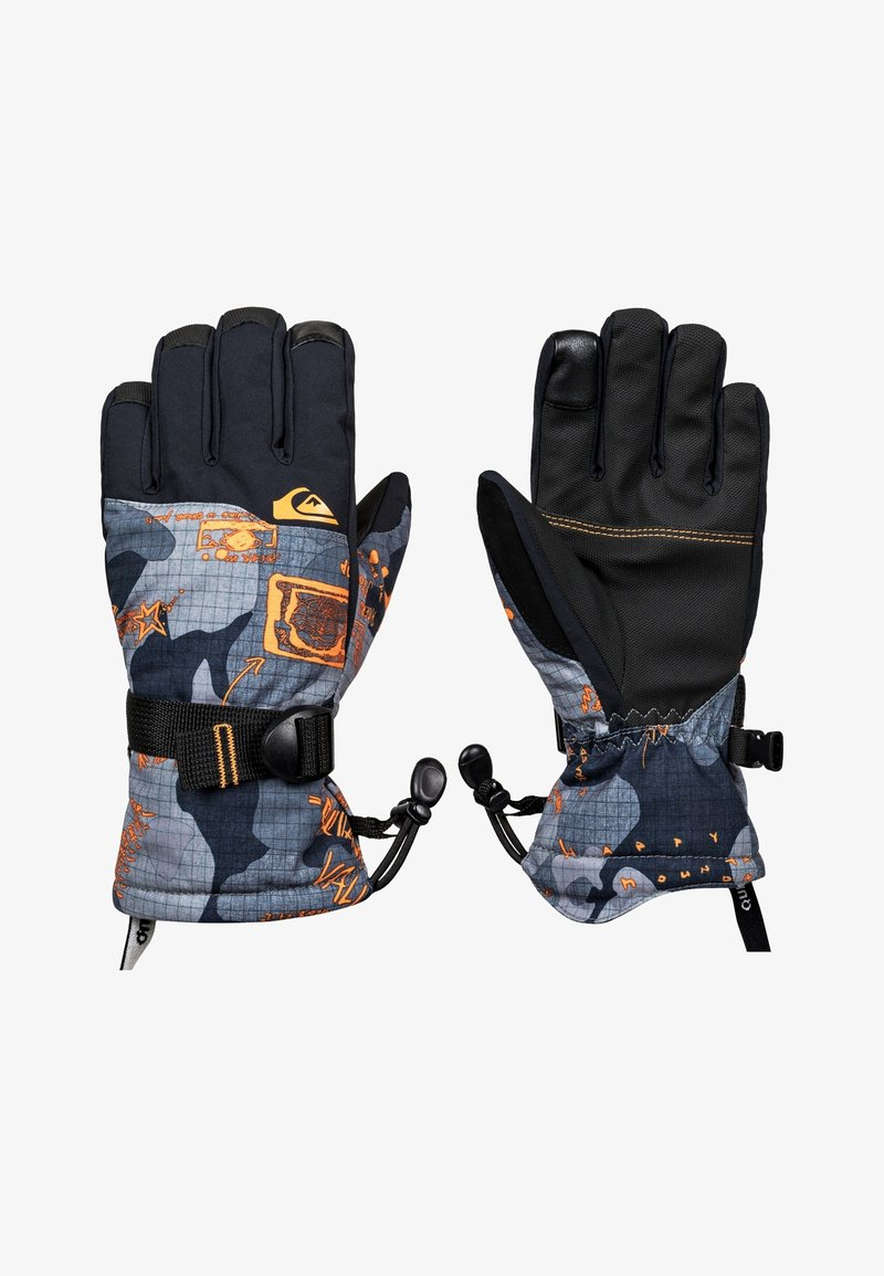 Quiksilver - MISSION - Gloves - flame wichita