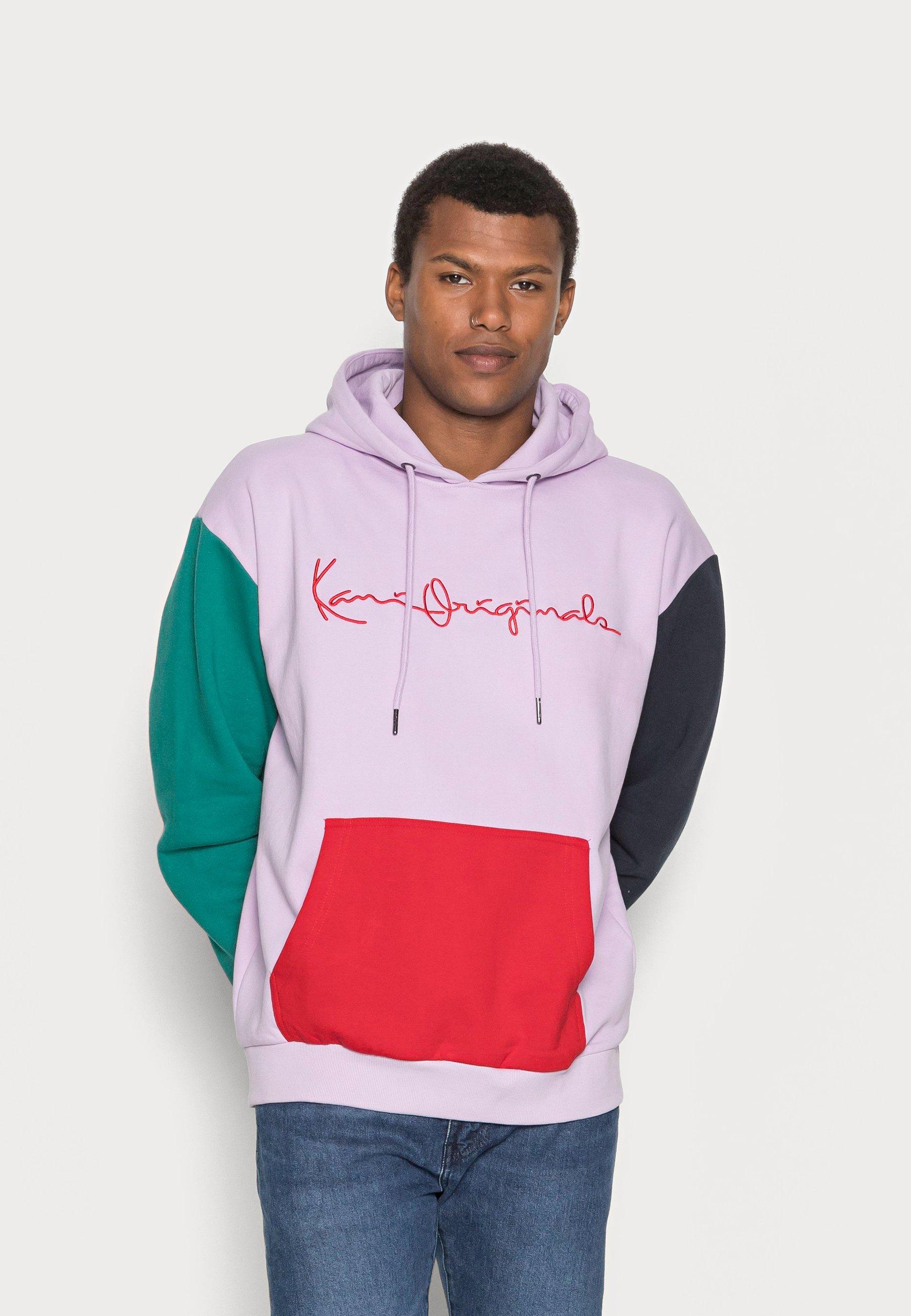 Homme UNISEX ORIGINALS BLOCK HOODIE - Sweatshirt