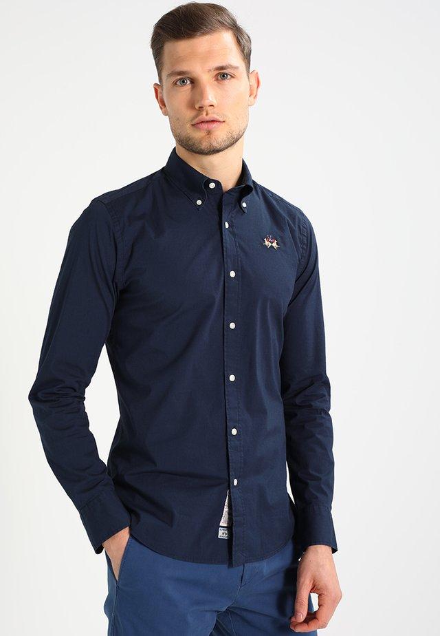 SLIM FIT - Overhemd - navy